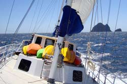 Sailing Bay of Islands aboard Manawanui with Ecocruz